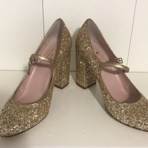 Kate Spade ♠️ Glitter Shoes 5 1/2
